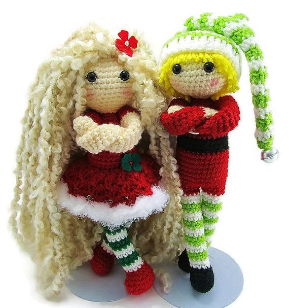 Christmas Elf Doll  Christmas Doll  Christmas Toys for by Starfall