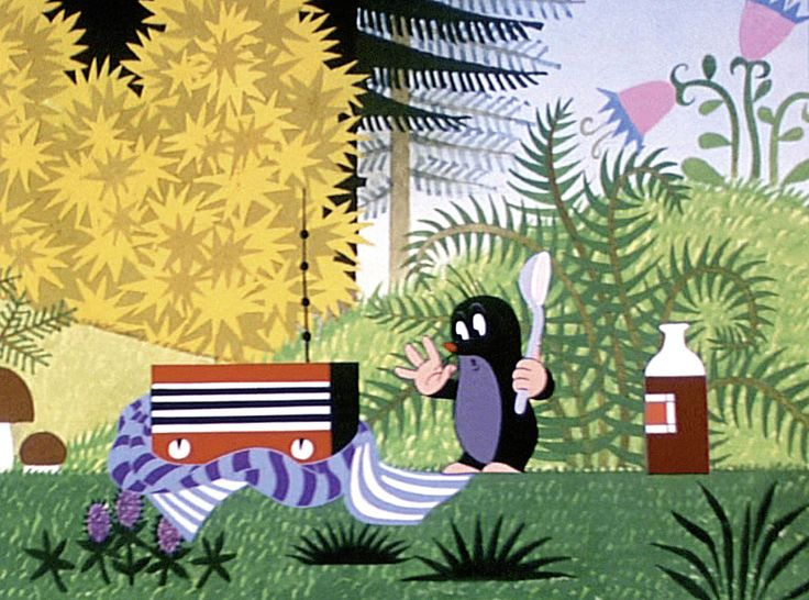 La Petite Taupe (Krtek) film d'animation riche en couleurs et en illustrations…