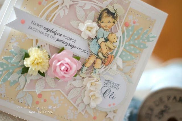 Birthday pastel card (mamajudo.blogspot.com)
