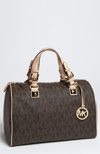 MICHAEL Michael Kors 'Grayson Logo' Satchel available at Nordstrom