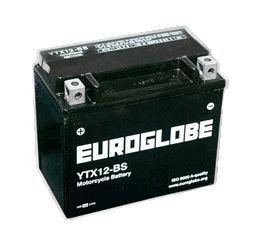 12V YTX12-BS MC-batteri 10Ah 150 x 87 x 130 mm i gruppen Batterier / UTV/ATV batterier / Övrigt hos Batteriexperten.com (GL45420)