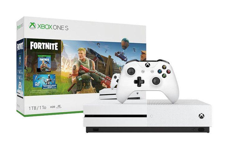 xbox one s 1tb fortnite console bundle w 2000 vbucks  1m