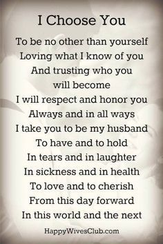 Romantic Wedding Vows Examples For Her and For Him   http://www.weddinginclude.com/2015/04/romantic-wedding-vows-examples-for-her-and-for-him/: