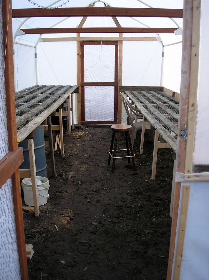 Greenhouse From Old Carport Frame in 2020 Carport