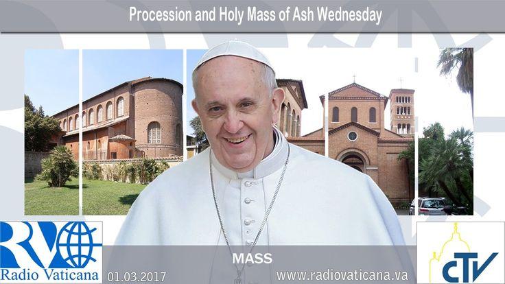 01.03.2017 Procesión y Santa Misa del Miércoles de Ceniza