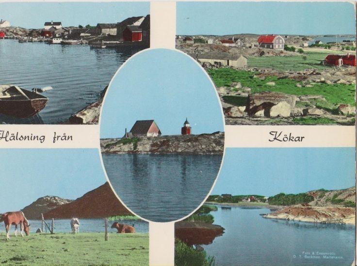 Postcard Ahvenanmaa/Åland Kökar, Finland, 1970