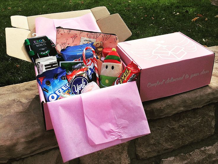 The PMS Package: Monthly Gift Box Brings Comfort to Girls on Their Periods - Absolutely brilliant idea!