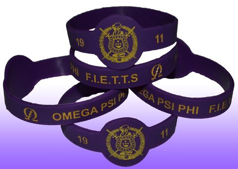 OMEGA PSI PHI WRISTBAND  #OWT #ROO #DAWG #QUE #BRUHZ #ΩΨΦ #OMEGA #OmegaPsiPhi