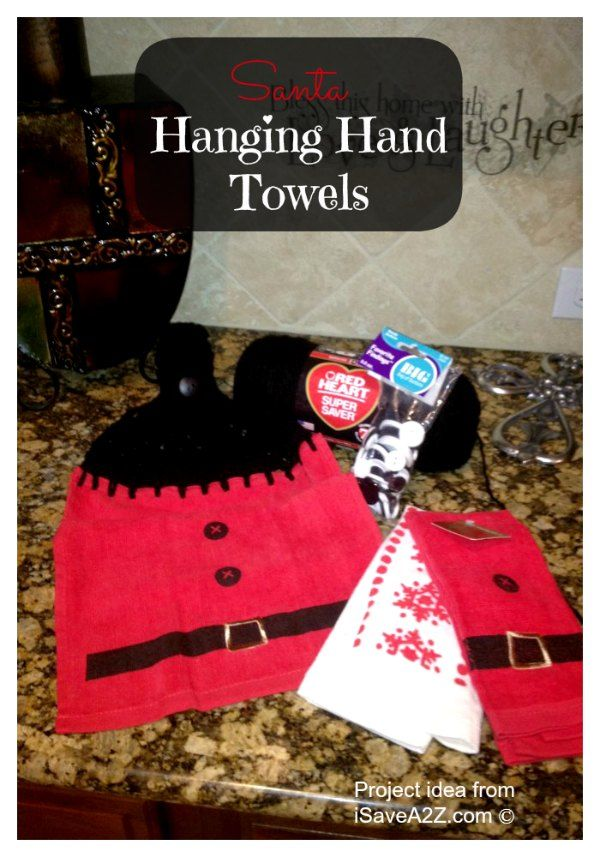 Santa Hand Towels - iSaveA2Z.com