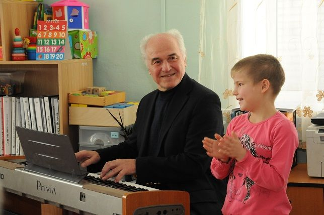 "In the orphanage ""Dream"". Blagoveshchensk. 2015"
