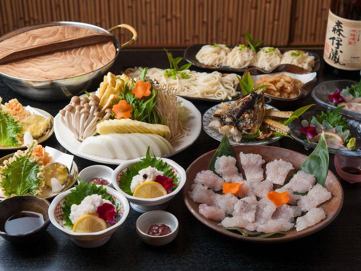 はもコース / Hamo (eel) summer special menu