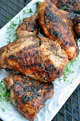 Watermelon Cherry Glazed Grilled Chicken 161e: Recipes General, Glaze Recipes, Summer Recipes