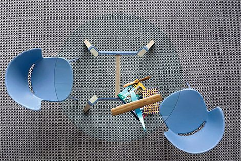 Calligaris   Paper Round Table   Available in a number of base finishes.