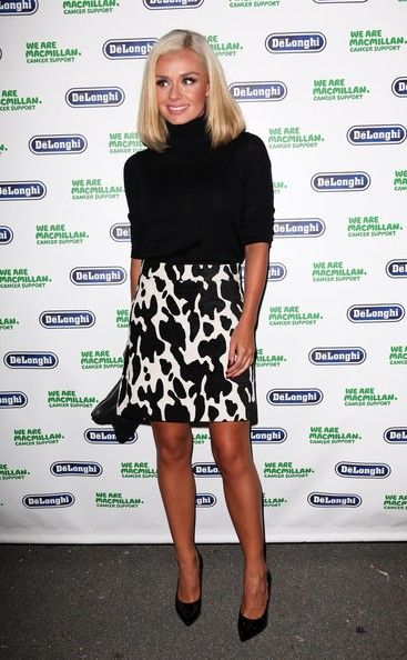 Katherine Jenkins - Arrivals at the Macmillan De'Longhi Art Auction