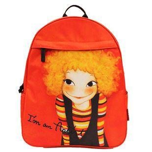 包邮!【YOUK SHIM WON】Witty Backpack Sunny*红色双肩背包!-淘宝网