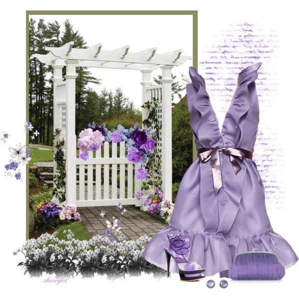 The Garden Gate by sherryvl on Polyvore featuring Julia Cocco', Ippolita, Thos. Baker, LUISA BECCARIA and Gianmarco Lorenzi