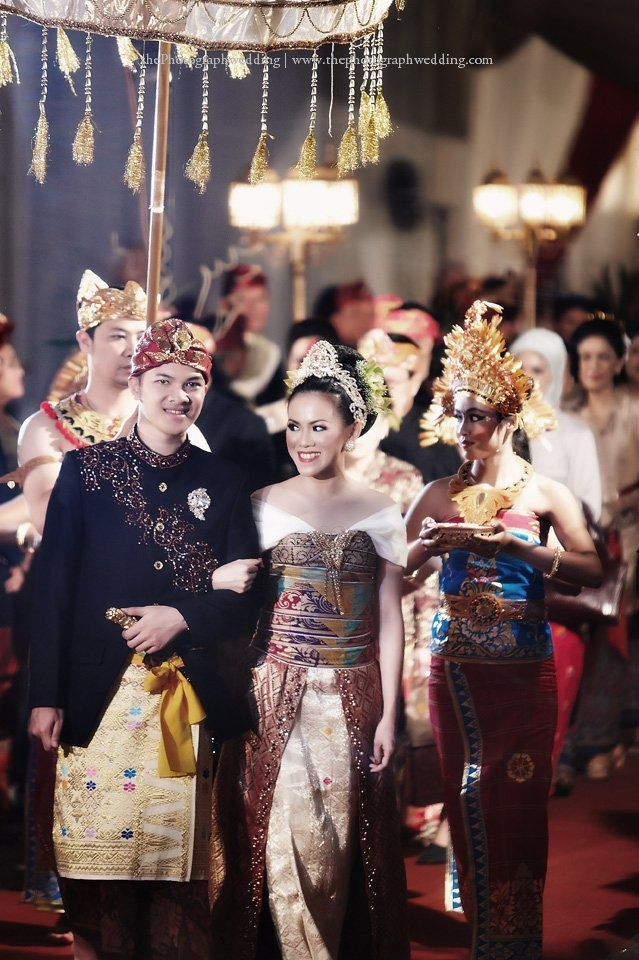 Balinese culture covers their love and happiness.
