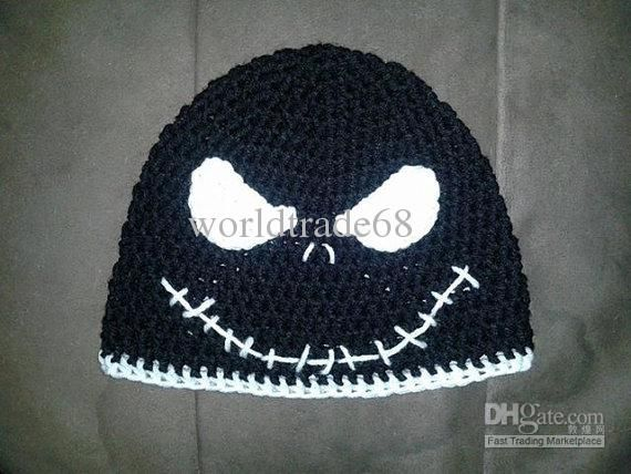 Jack Skellington Hat Knitting Pattern : 17 Best images about kinda like to have this on Pinterest Ouija, 1959 cadil...