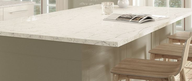 Silestone Eternal Pearl Jasmine Kitchen Worktops Stone