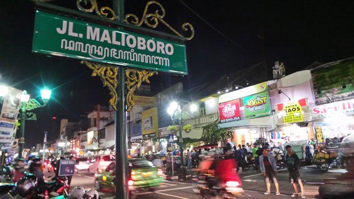 Pilihan tempat wisata Jogja malam Malioboro yang menarik untuk dikunjungi