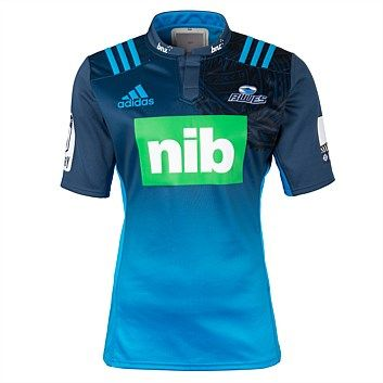 Rebel Sport - adidas Mens Super Rugby 2016 Blues Home Jersey