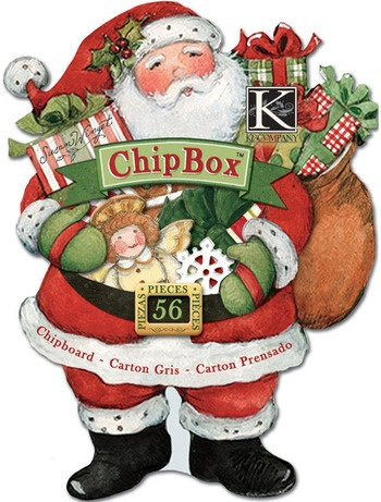 Susan Winget Glad Tidings Toys and Presents ChipBox