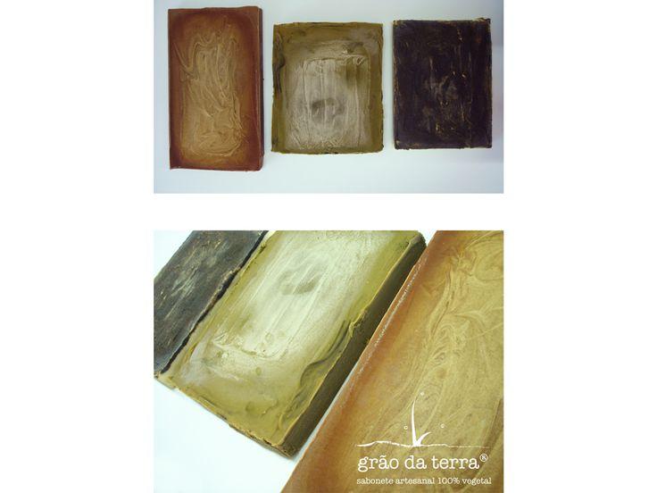 Barras de sabão artesanal em bruto FIA 2016   Crude soap handmade bars FIA 2016