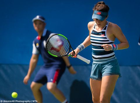 f27294bf66e44 Nicole Gibbs presents New Balance's US Open fashion | New WTA ...