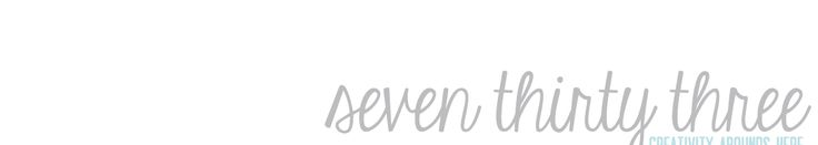 seven thirty three - a blog that has blogging tips and printouts for organisation