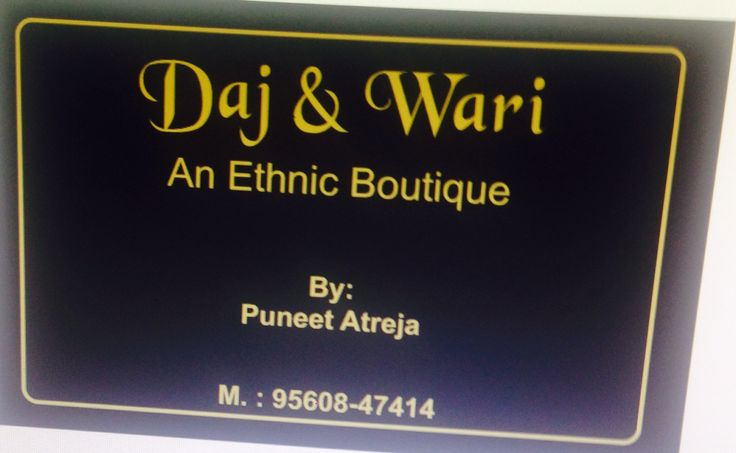 Newly opened ethnic boutique in karnal