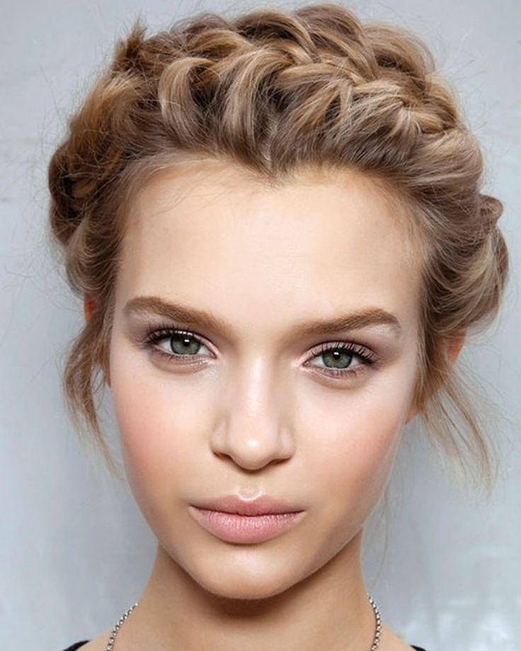 Brilliant 1000 Ideas About Short Braided Hairstyles On Pinterest Short Short Hairstyles Gunalazisus