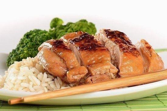 Шустрый повар.: Курочка на японский манер с соевым соусом и медом