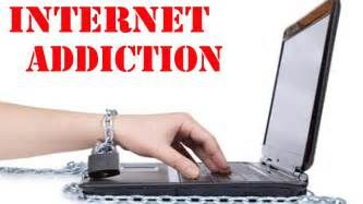 Internet Addiction is being addicted to the internet.