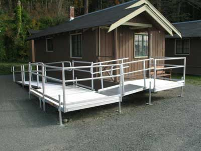 1000 ideas about wheelchair ramp on pinterest view for Handicap mobile homes