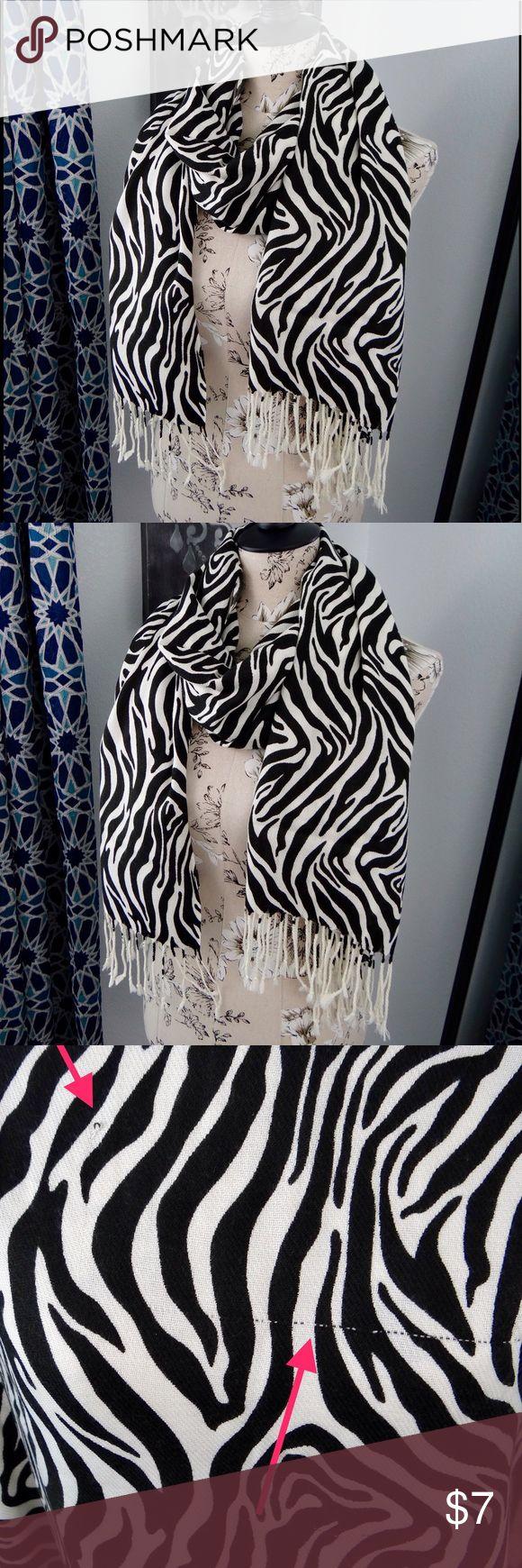 Grace Adele zebra scarf Grace Adele zebra scarf Grace Adele Accessories Scarves & Wraps
