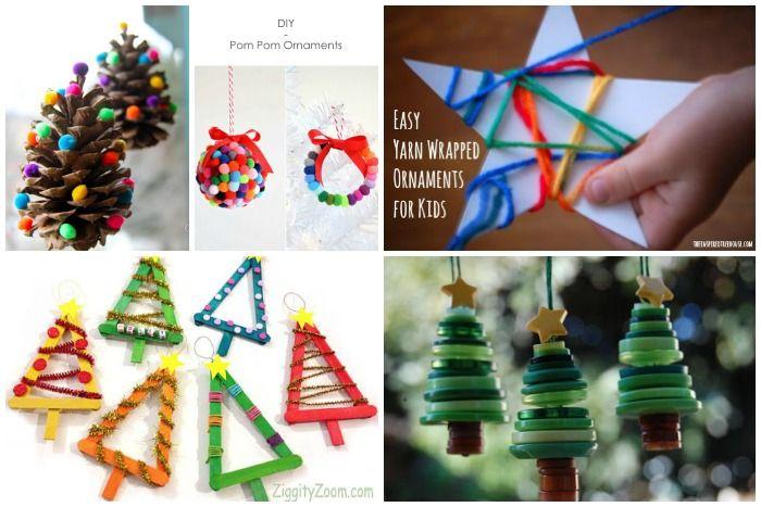 DIY voor kinderen: 10x kerstboom decoratie - Meisje Eigenwijsje <3