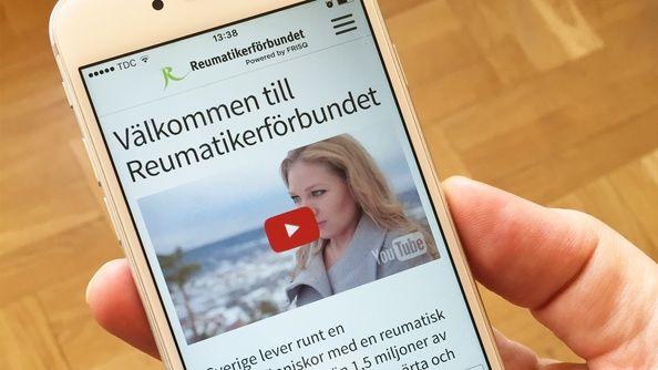 Reumatikerförbundet – Premiär för vår första app!