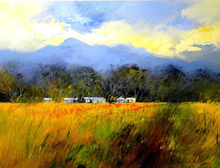 Farm Landscape by   Dante Art Gallery