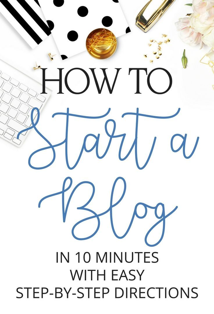 Learn how to start a blog with these easy step by step directions. Turn your passion into your job and earn a full-time income with your blog,