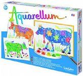KROWY - AQUARELLUM - SENTOSPHERE - Buy4Kids - zestawy kreatywne dla dzieci
