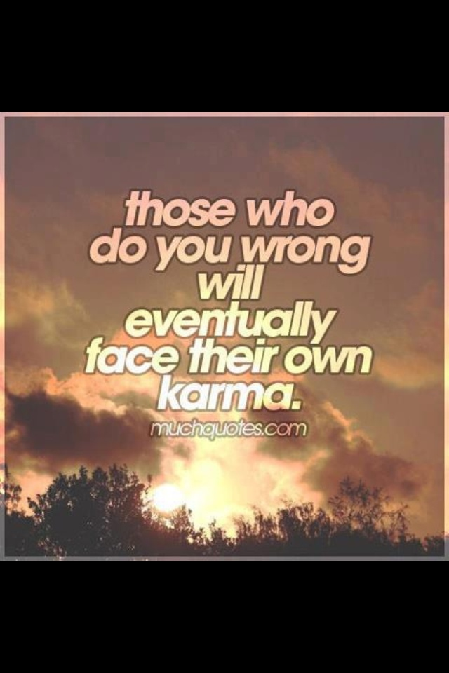 Quotes About Friendship And Karma : Best images about karma on