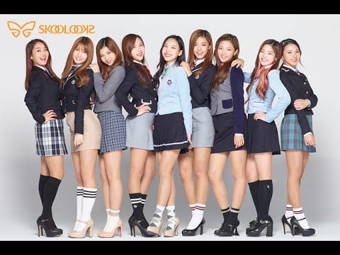 Twice Poses for Skoolooks with Uniform Outfits