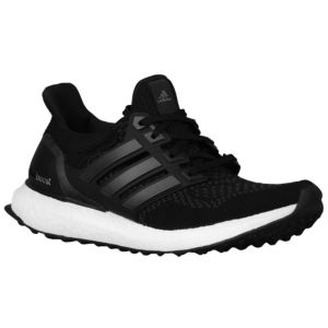 adidas Ultra Boost - Women\u0027s - Black/Black/Silver Metallic