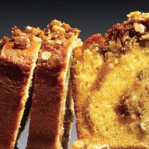 Walnut Streusel Bread   MyRecipes.com