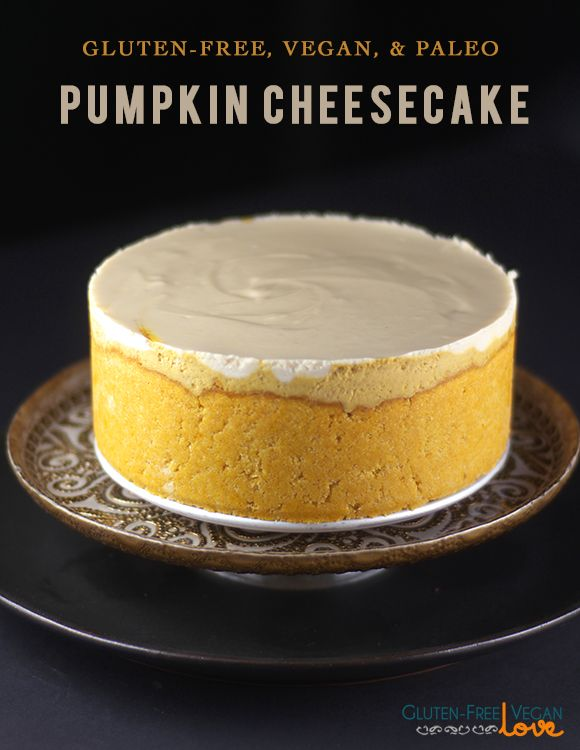*Courtesy of Audrey Snowe Makes a 6″ cheesecake; double ingredients for a larger sized cake Ingredients: Crust * 3 tbsp coconut oil, melted * 3 tbsp maple syrup (or liquid sweetener of your choice) * 1/2 tbsp pure vanilla extract * 7 tbsp pumpkin puree (a one 15oz can pumpkin puree was used in total for this recipe and took the 7 tbsp from that. You can also use your own cooked pumpkin puree but make sure it's not too runny; strain the liquid out if necess...