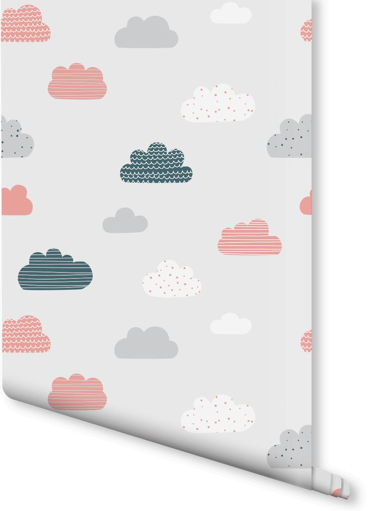 in love with this charming cloud wallpaper design pretty pastels mix with with different patterns charming wallpaper office 2 modern