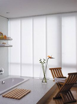 Sliding Panel Vertical Blinds - 30 colors to choose from - #MadeinAmerica