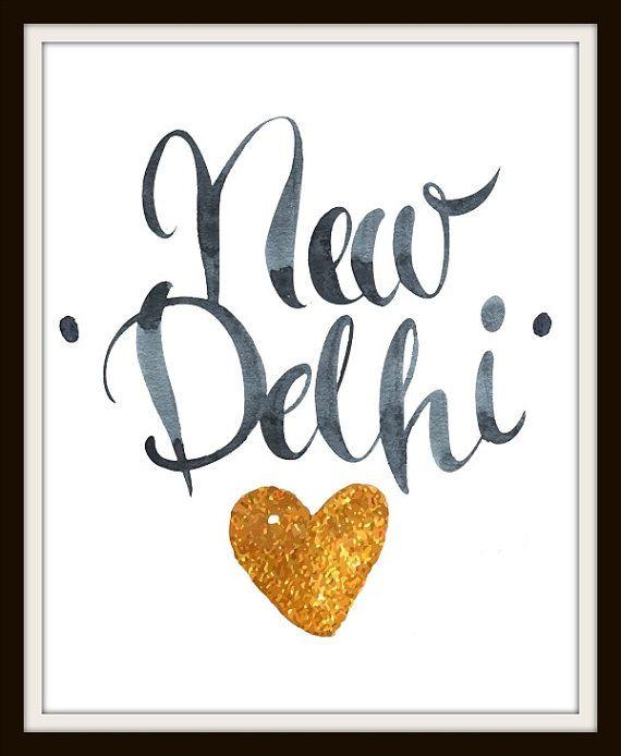 Travel Series: New Delhi - India, New Delhi India, New Delhi Art, India Art…