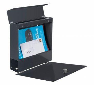 Frabox Design Briefkasten NAMUR Stahl lackiert von frabox - MK-DB1020-RAL-GLAENx online kaufen in unserem Shop   www.bruh.de