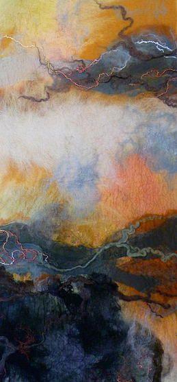 Felting Rae Woolnough Textiles Artist   gallery